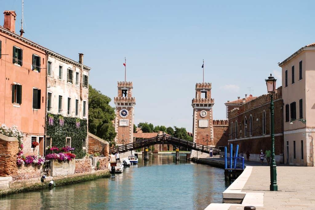 Cosa visitare a Venezia in due giorni: l'Arsenale
