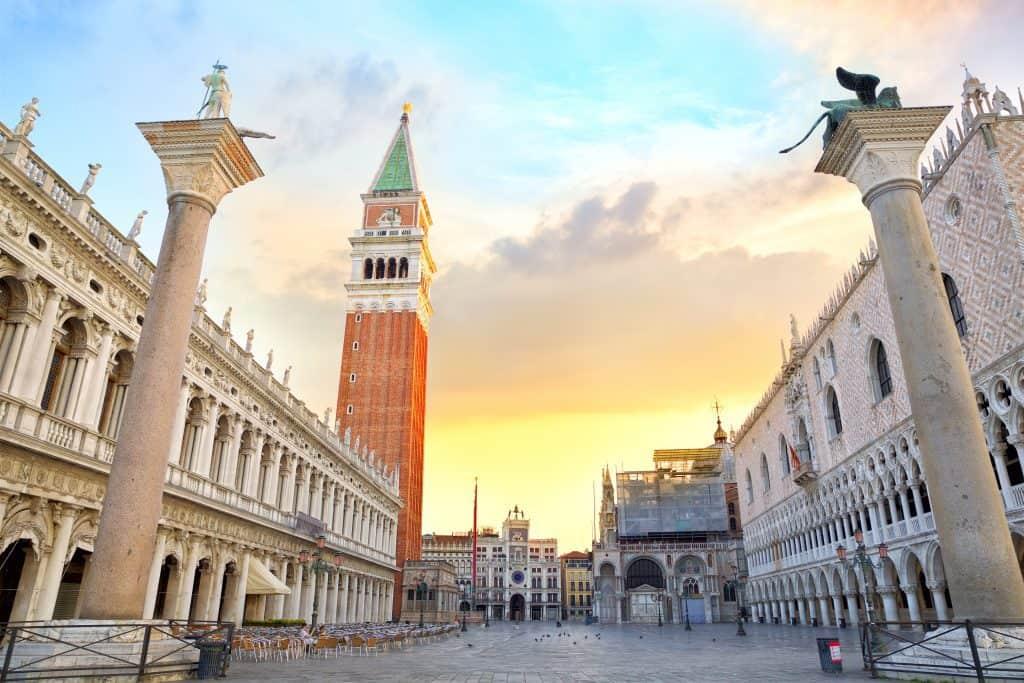 VPiazza San Marco a Venezia, una delle attrazioni principali