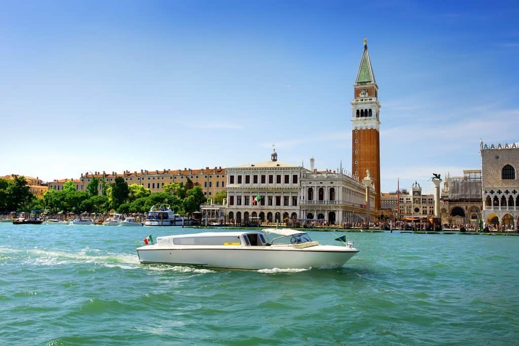Il Campanile di San Marco, tra le cose da visitare a Venezia.