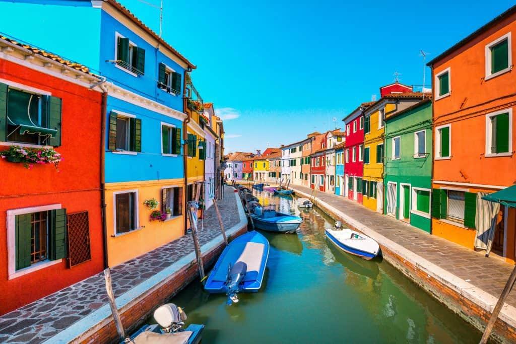 Burano, meta di un weekend a Venezia