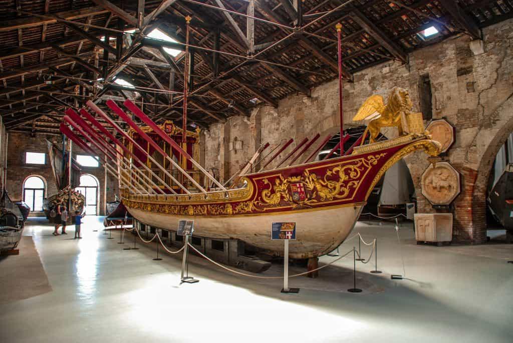 Visitare l'Arsenale di Venezia: Il Museo Navale
