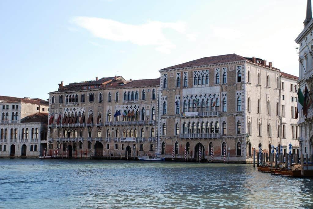 Canal Grande: Ca' Foscari. Visitare Venezia