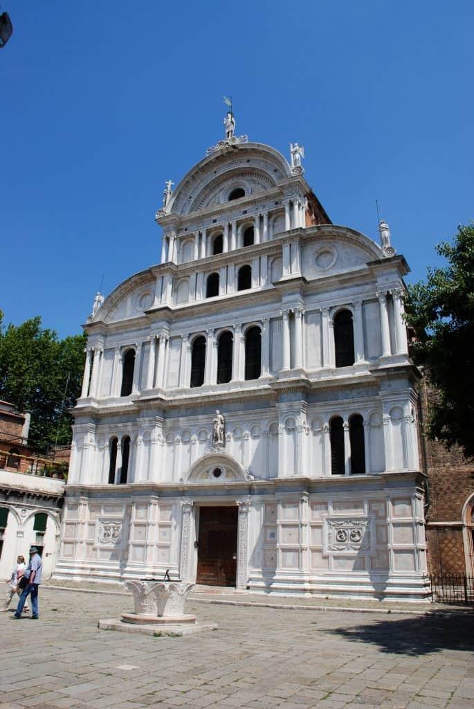 Visitare Venezia - San  Zaccaria nel quartiere Castello.