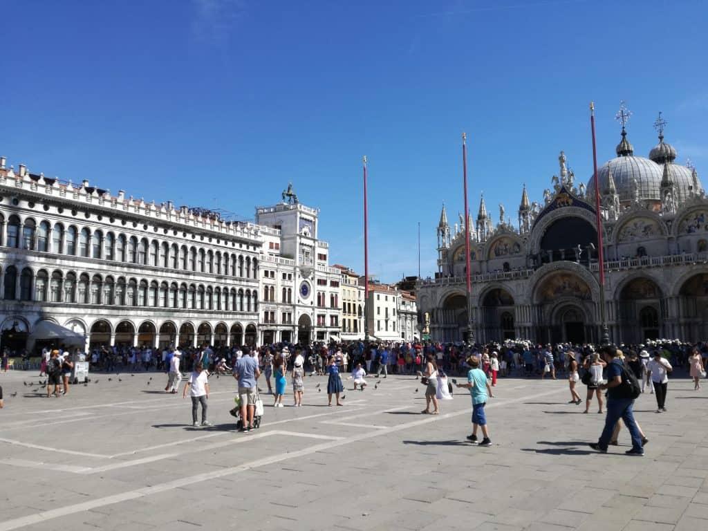 Visitare Venezia- Piazza san Marco e Torre dell'Orologio